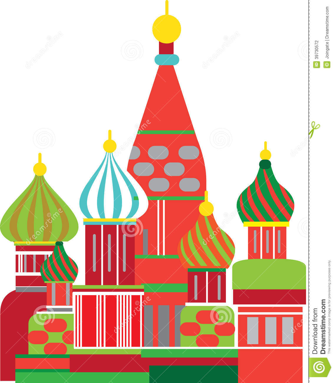 Red Onion Illustration Moscow Russian Onion D...