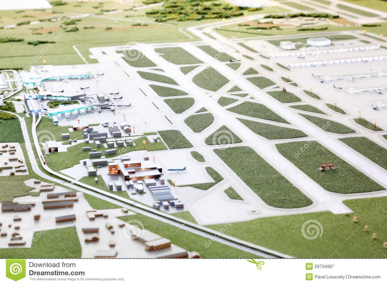 Layout Of Sheremetyevo Airport Editorial Photography Image 29734087