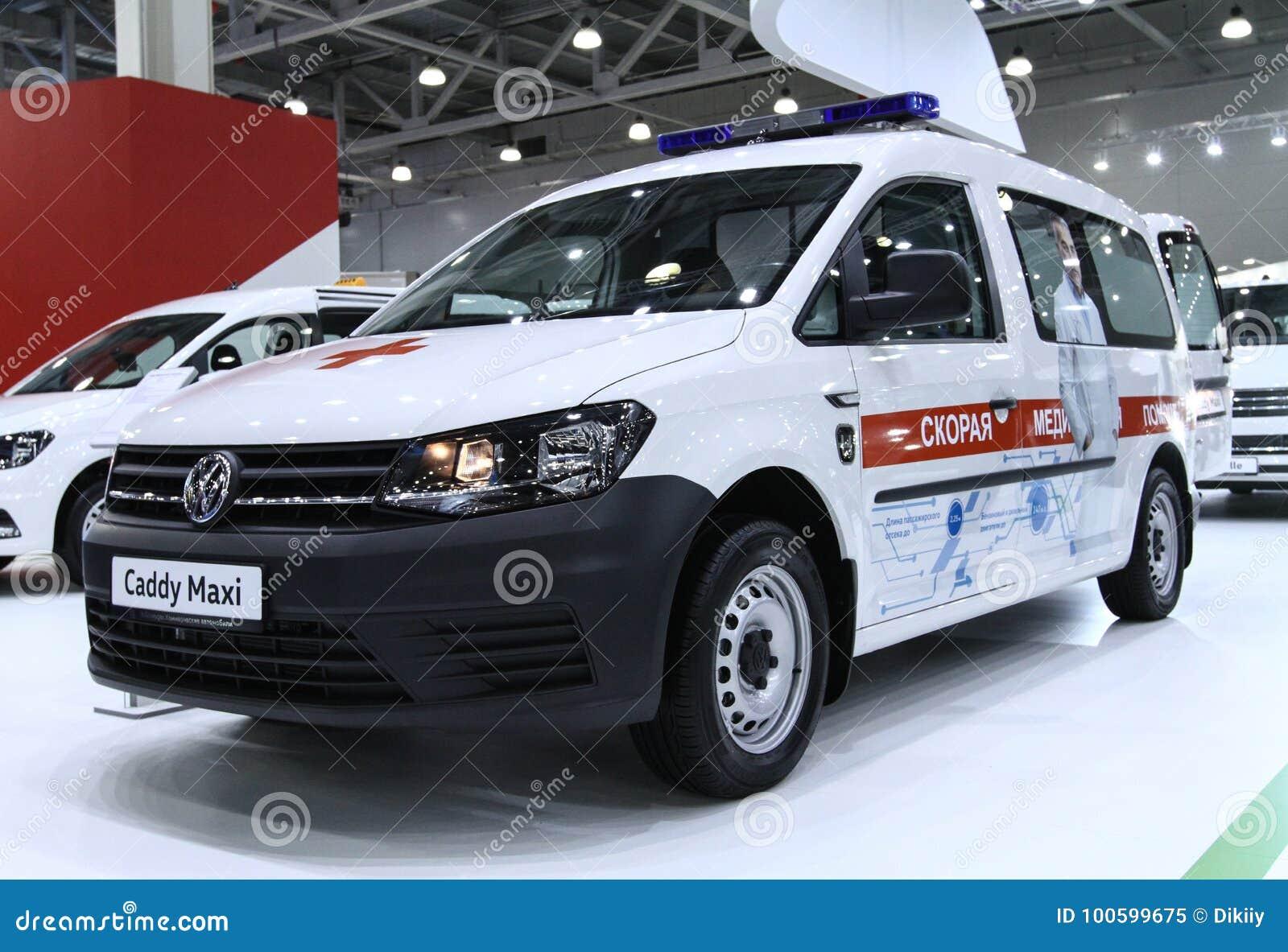 VW Caddy Maxi ambulance editorial image  Image of maxi - 100599675