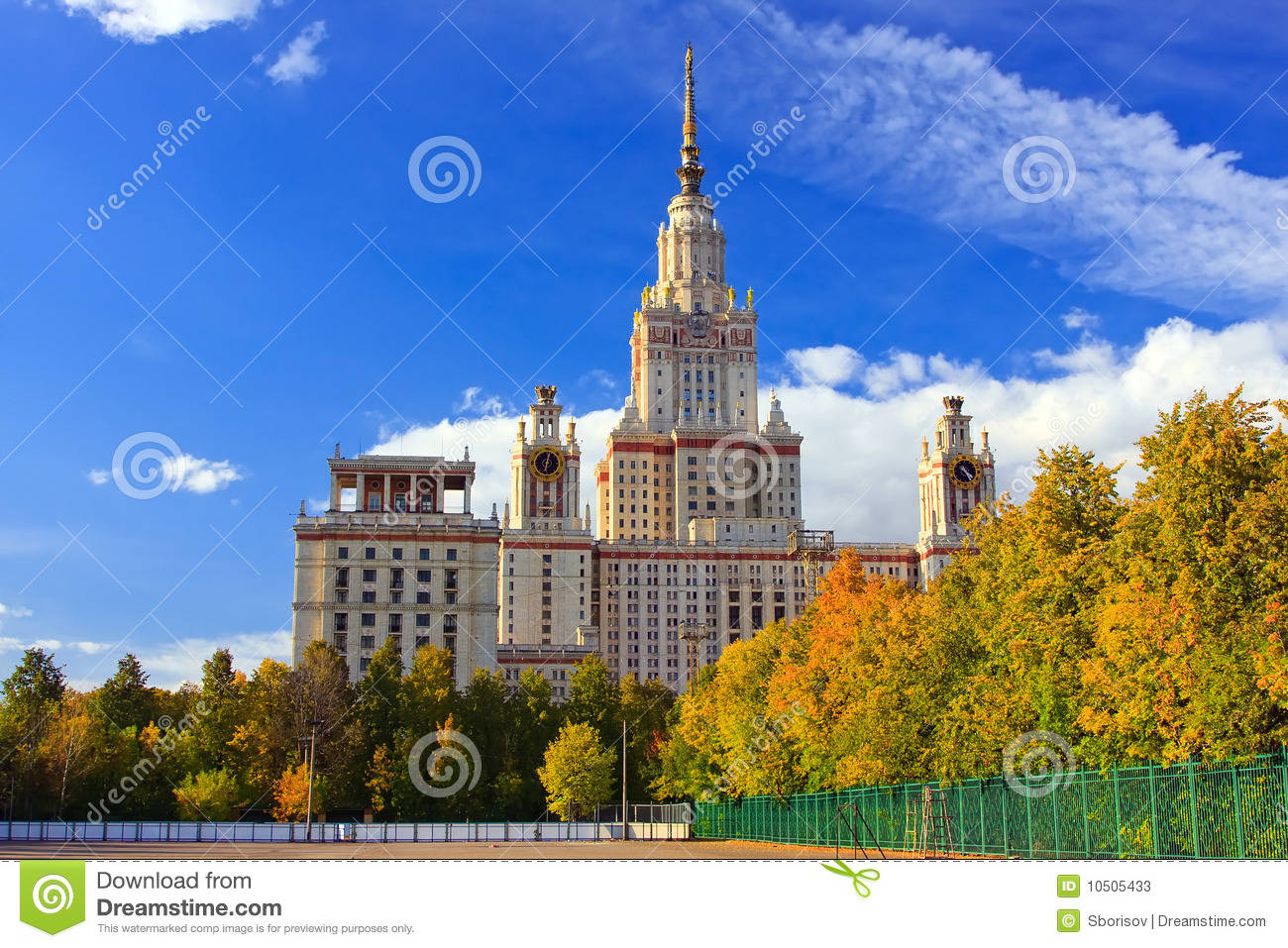 Moscow (ID) United States  city photos gallery : Main building of Moscow State University, Moscow, Russia.