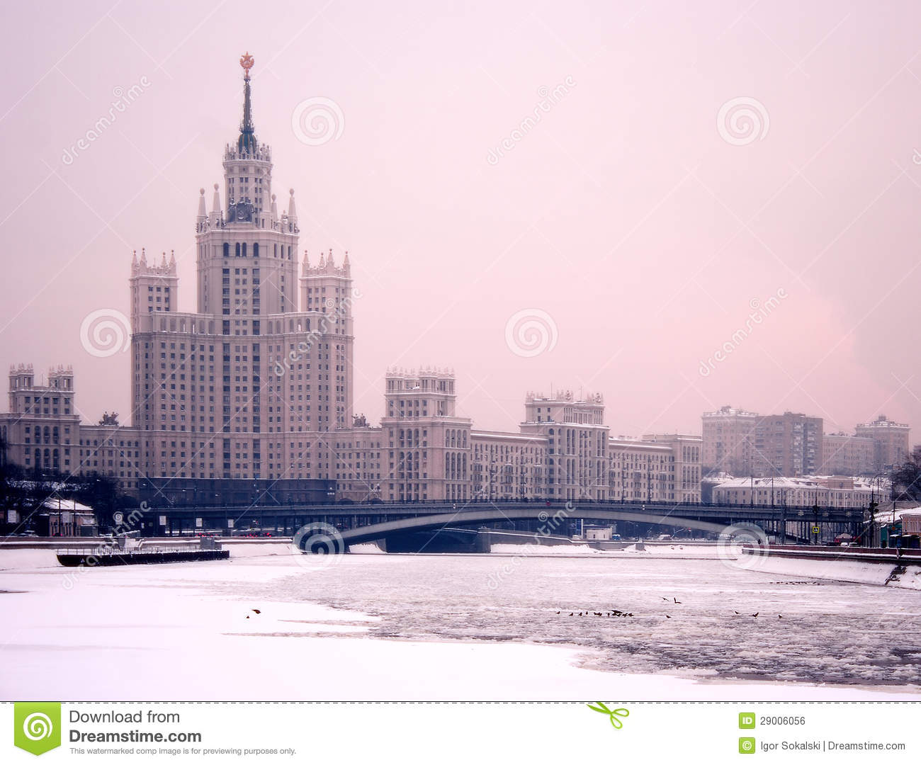 Moscow vinterskymning