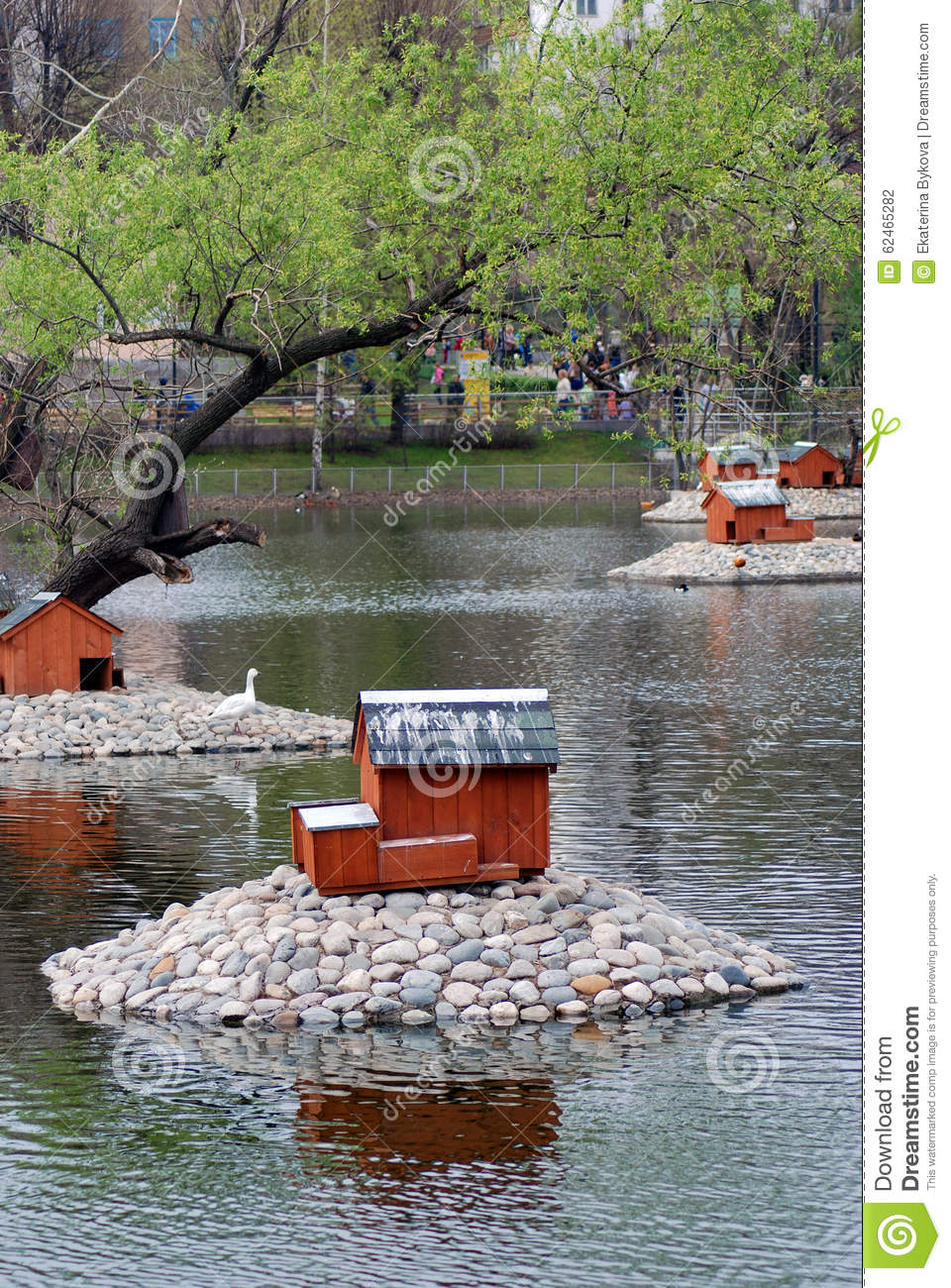 Russia Birdhouse In The Park At Sparrow Hills In Moscow