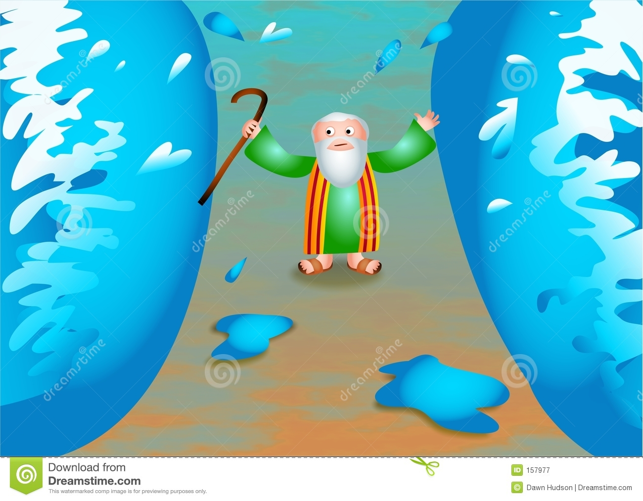 Parting Of The Red Sea Story For Kids