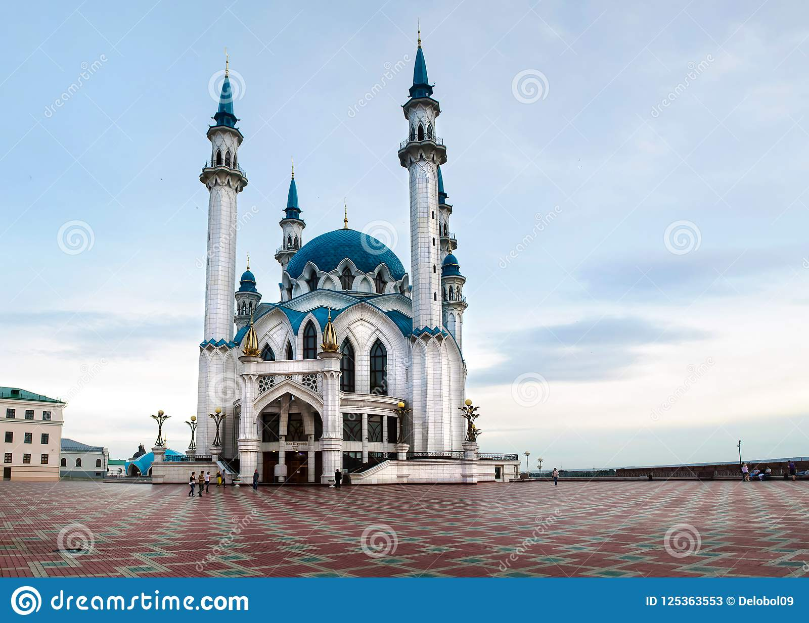 Moské av Kul-Sharif i Kazan kremlin, Ryssland