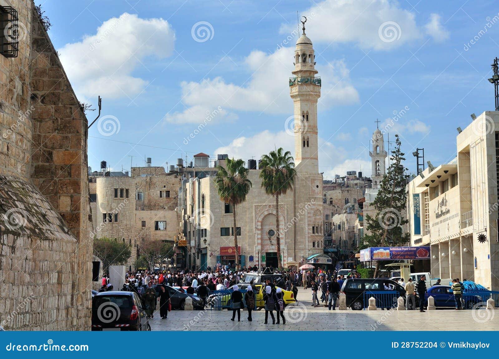 Moské av Omar i Bethlehem