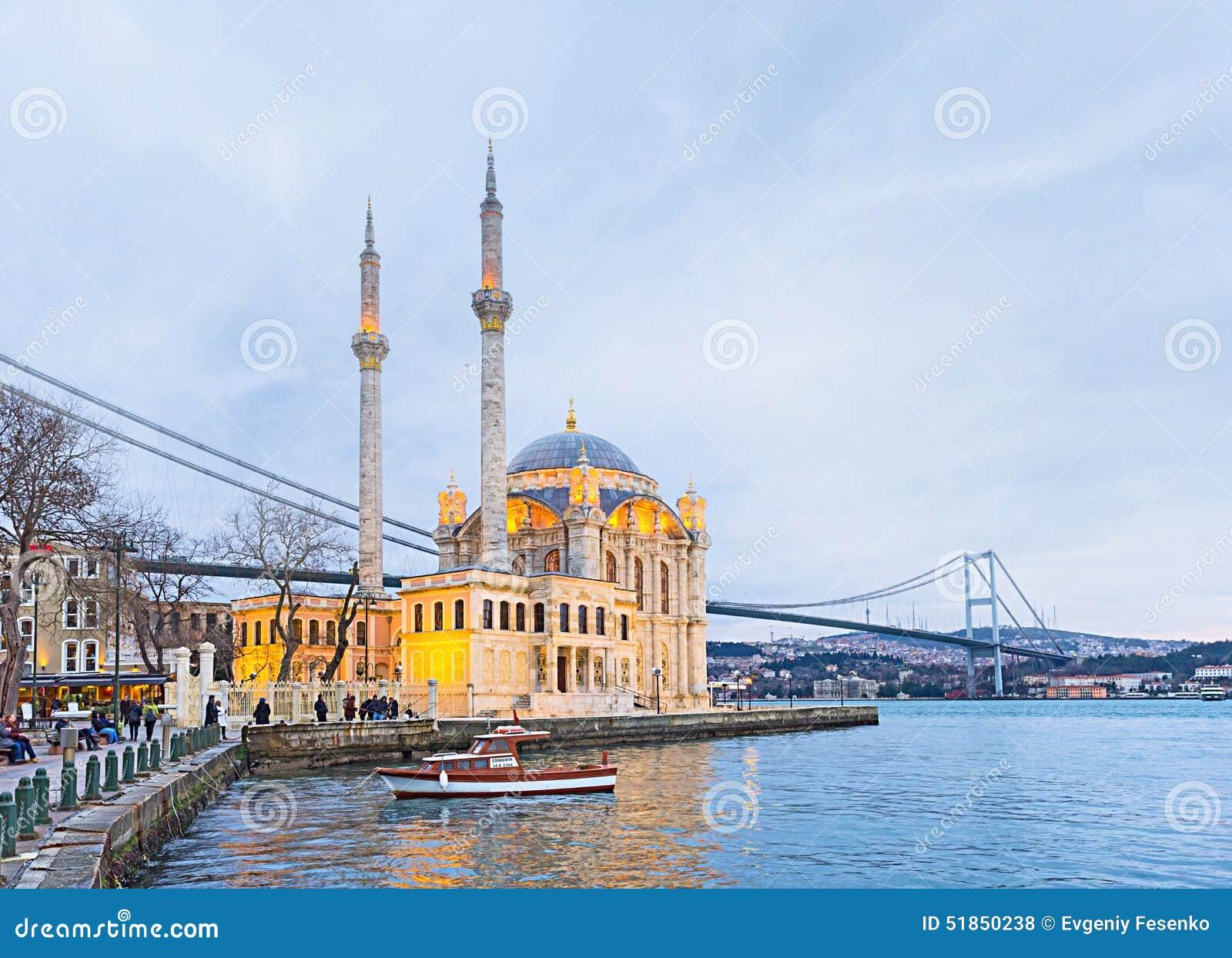 Moskén på Bosphorus