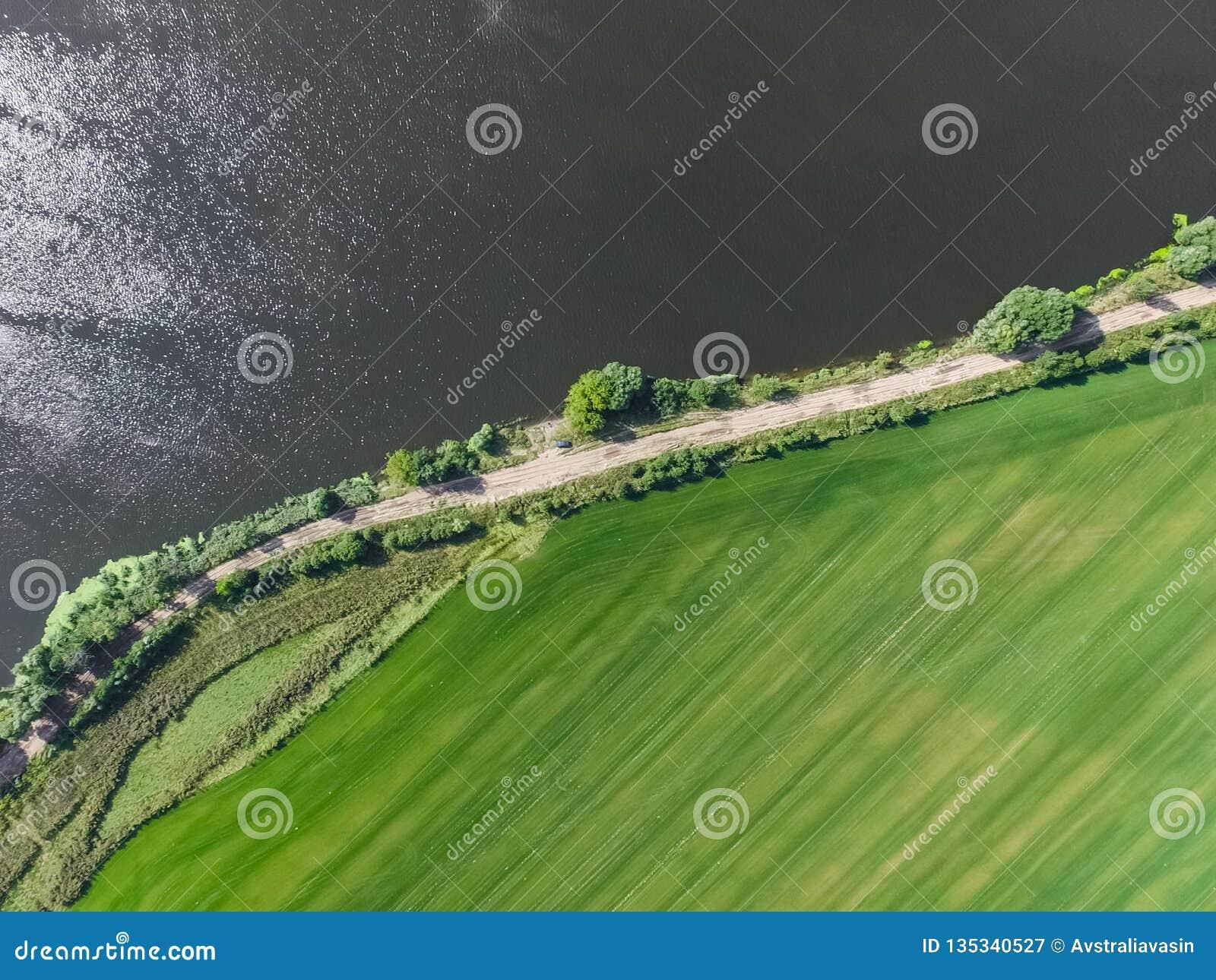 Moskau-Fluss, Ansicht von oben