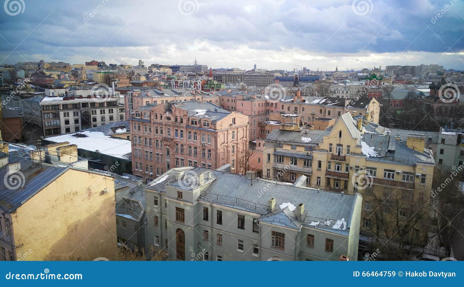 Moskau-Stadtzentrumansicht