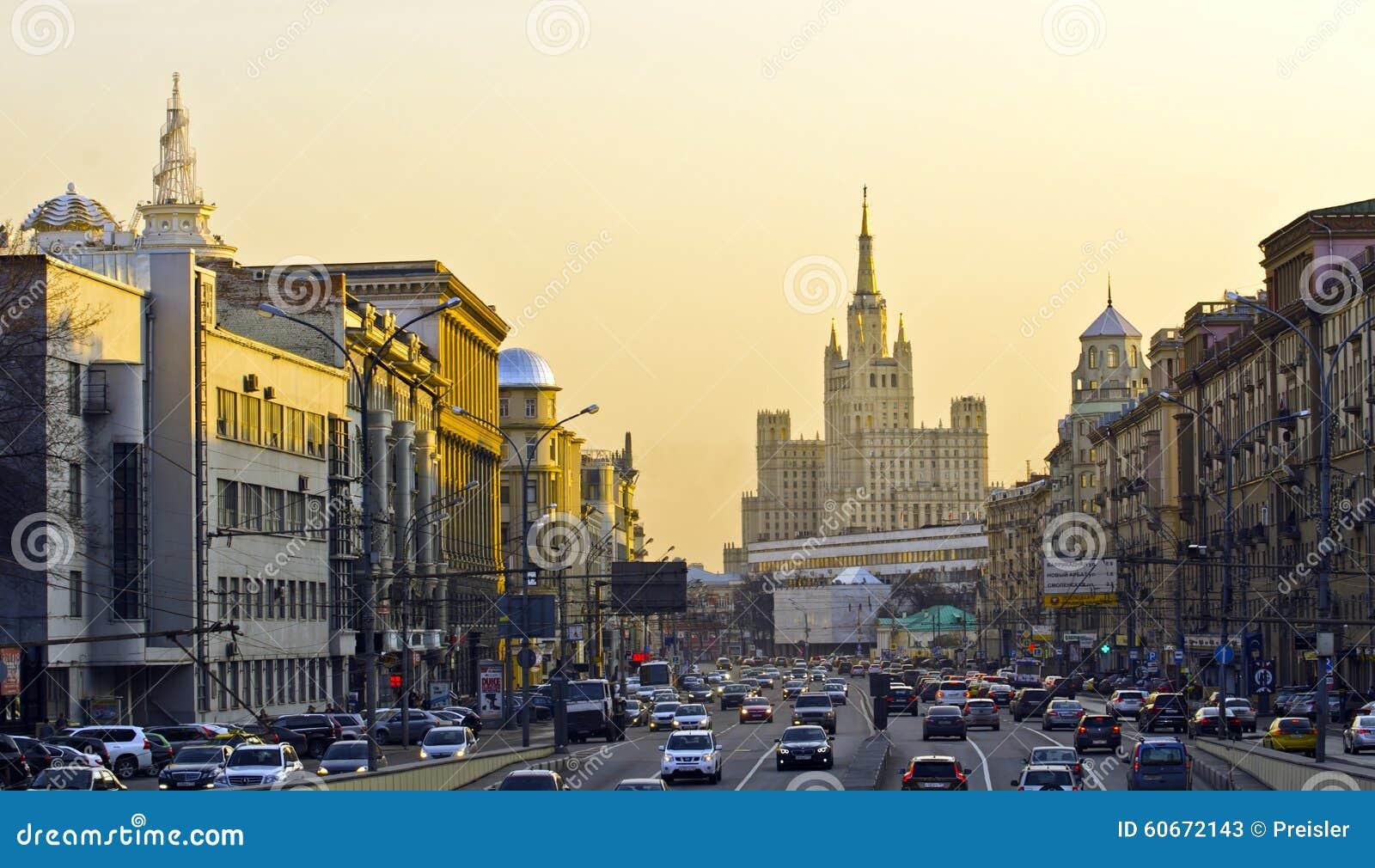 Moskau-Verkehr