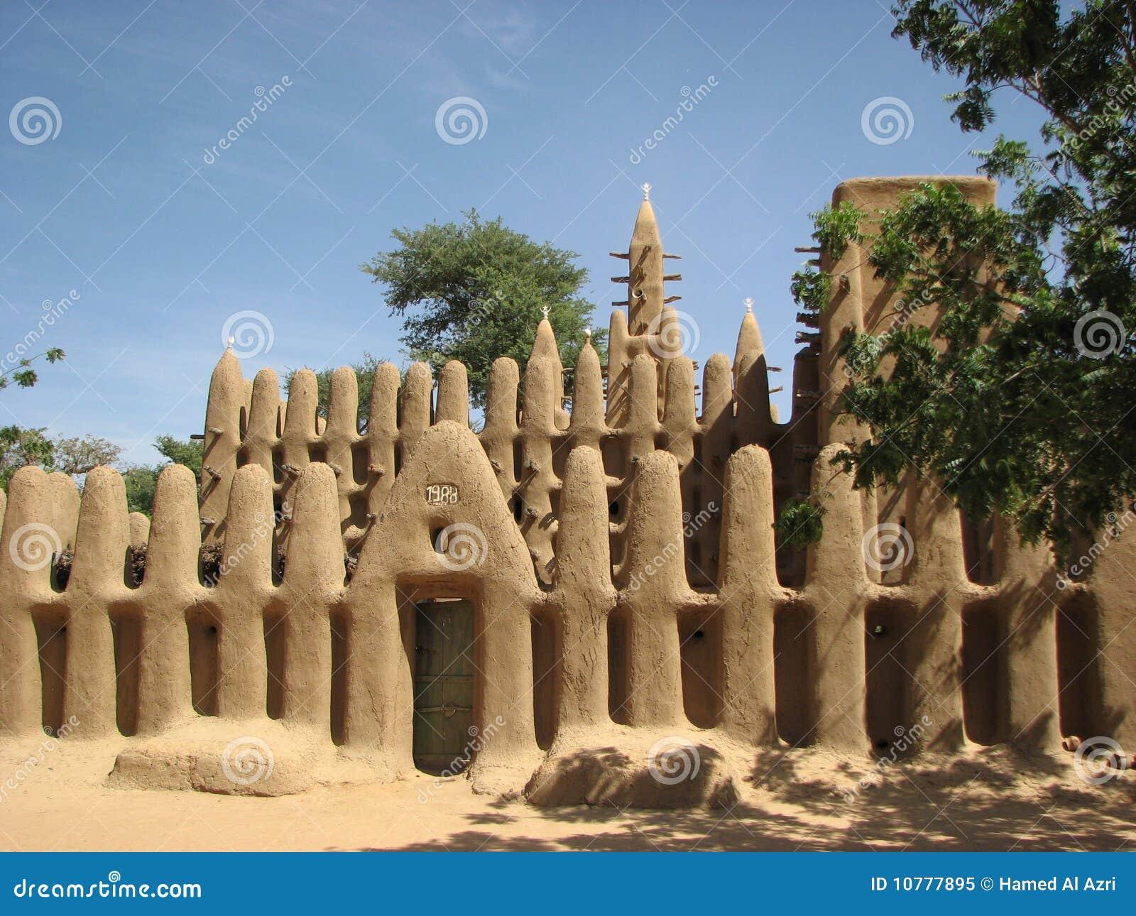 Moskee 3 van Dogon