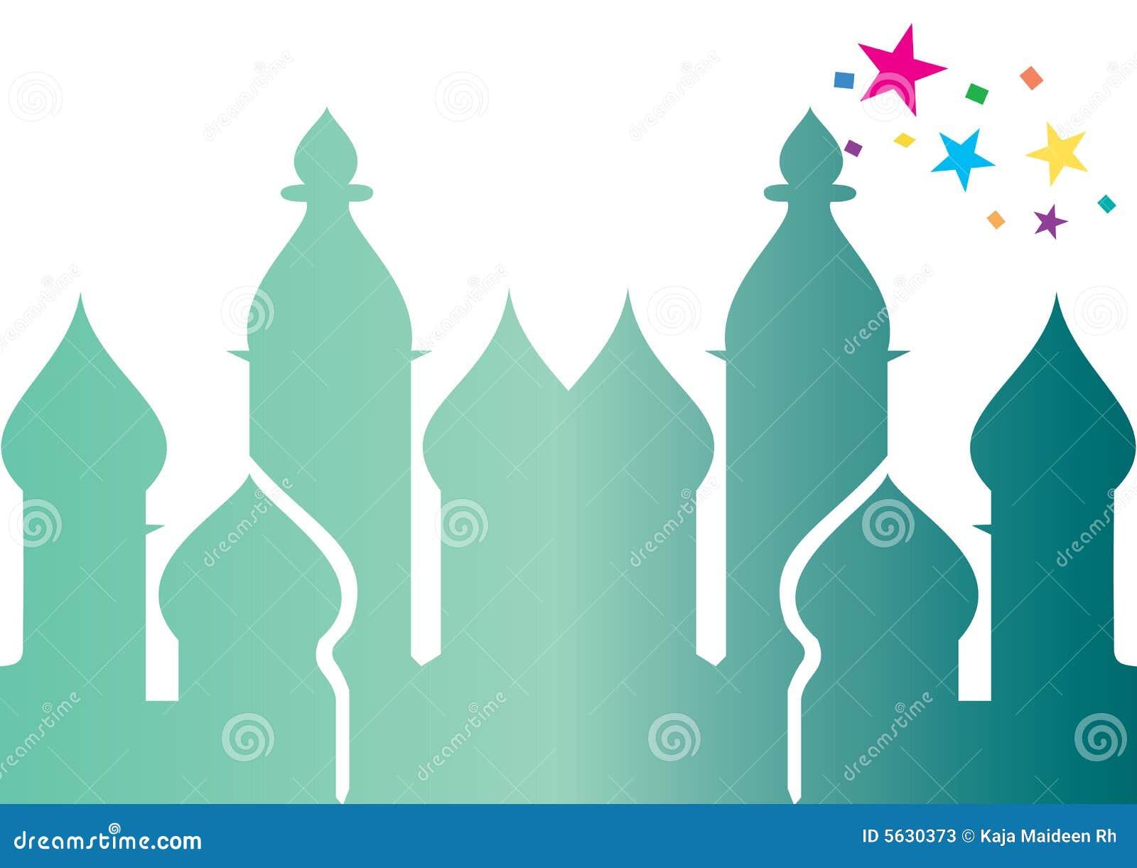 Moskee - vector