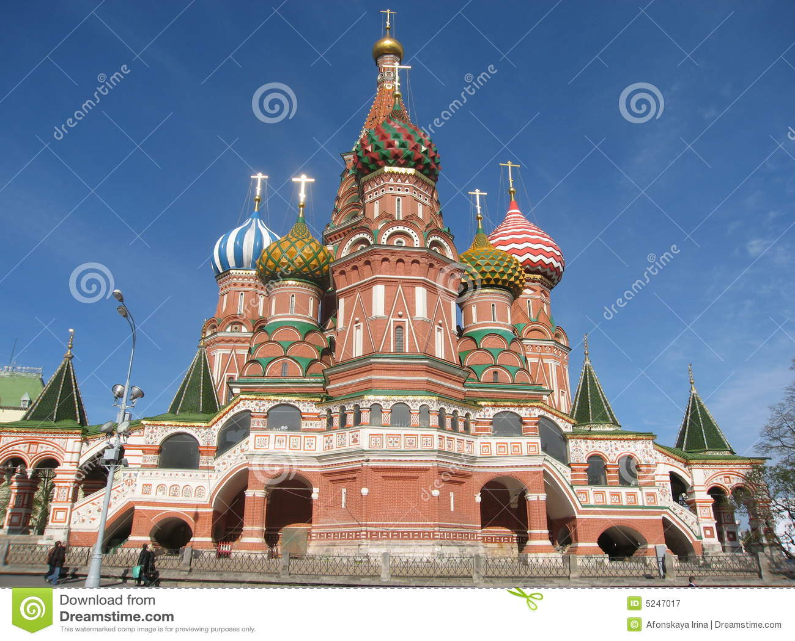Stock fotografie: moskou, rusland, (pokrovskiy) kathedraal st.basil