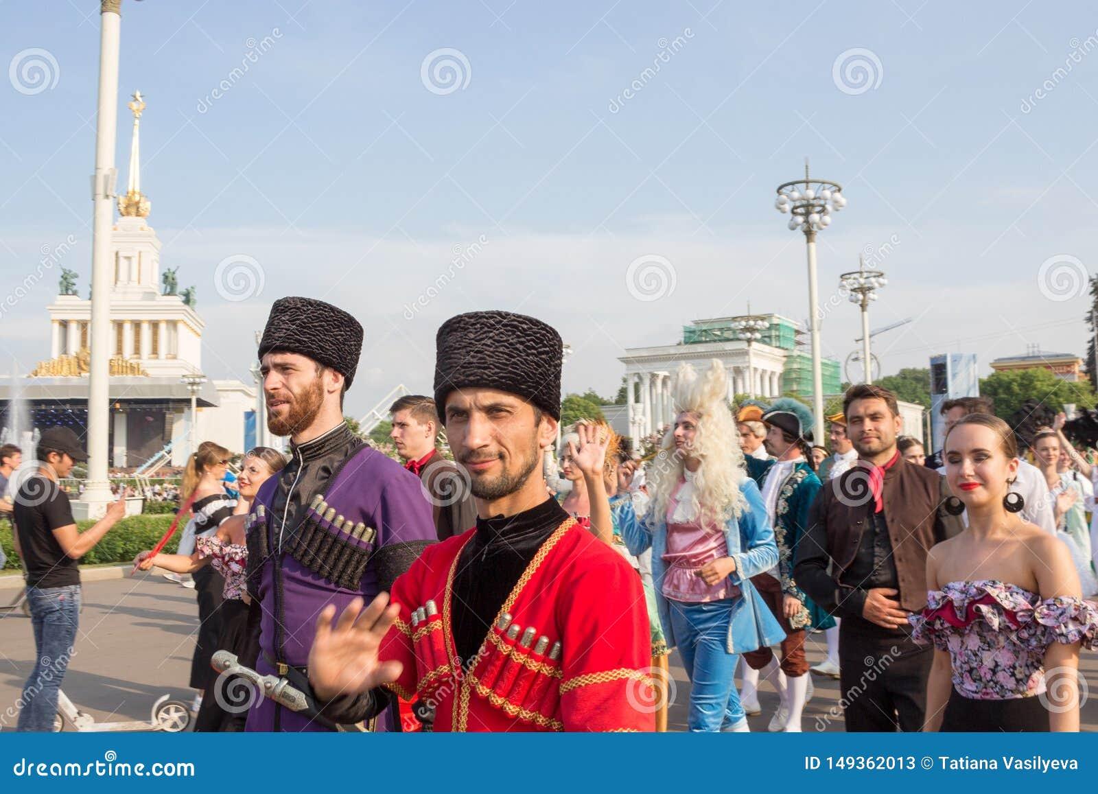 Moskva Ryssland: Ferier f?r festival?v?rldsbalett