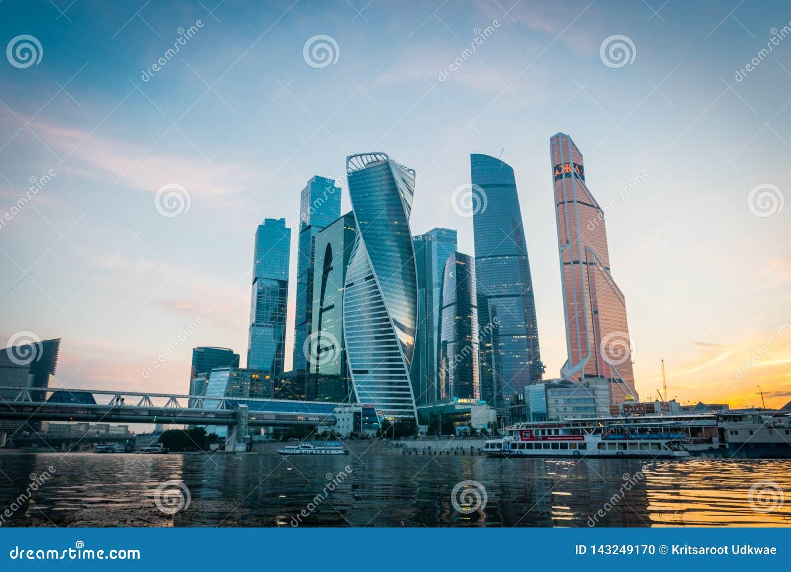 Moskwa Międzynarodowy centrum biznesu w Moskwa, Rosja