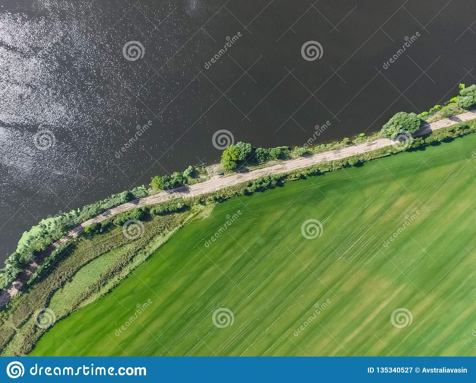 Moskwa rzeka, przegląda z góry
