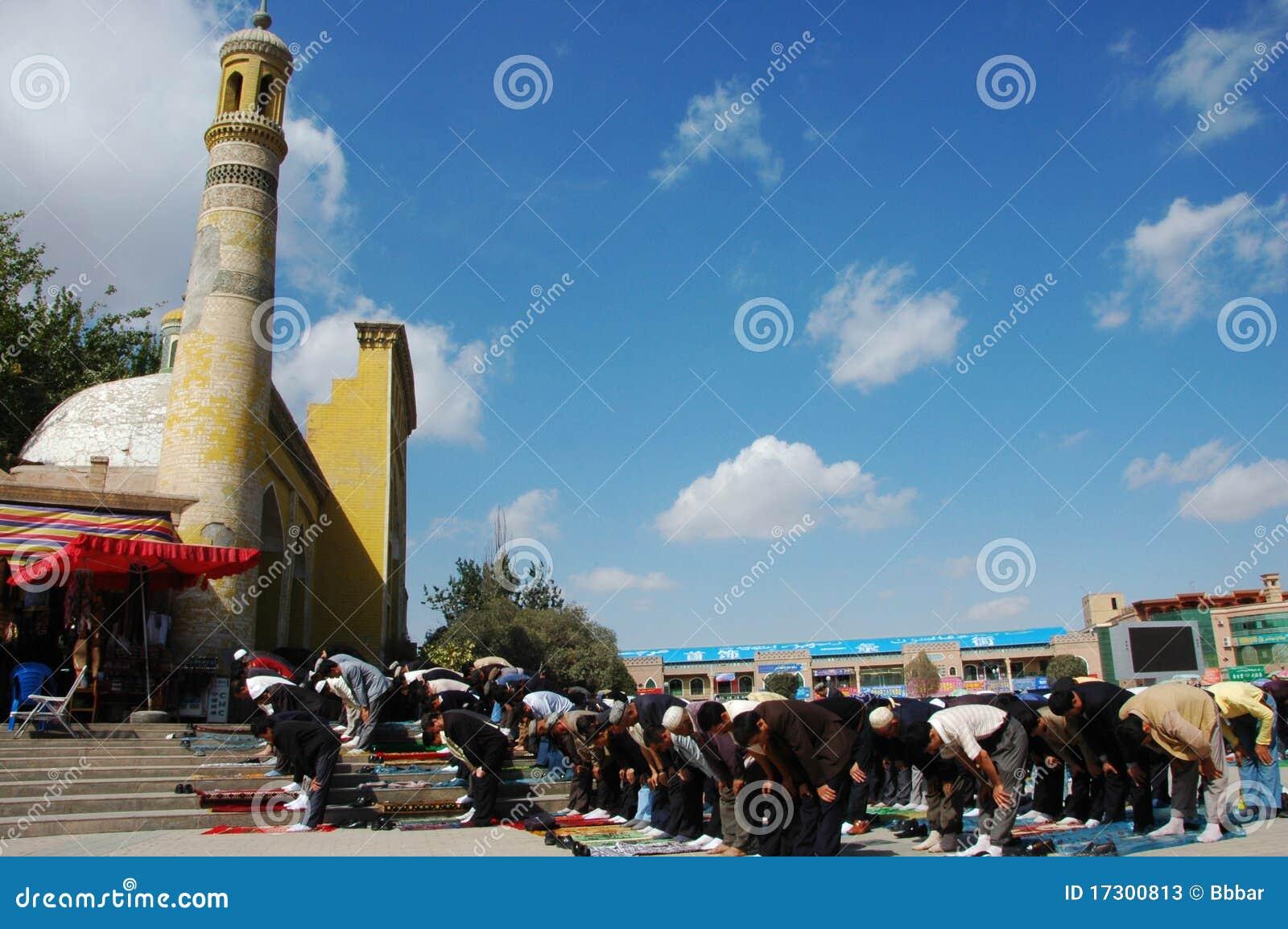 Moslim worshipers