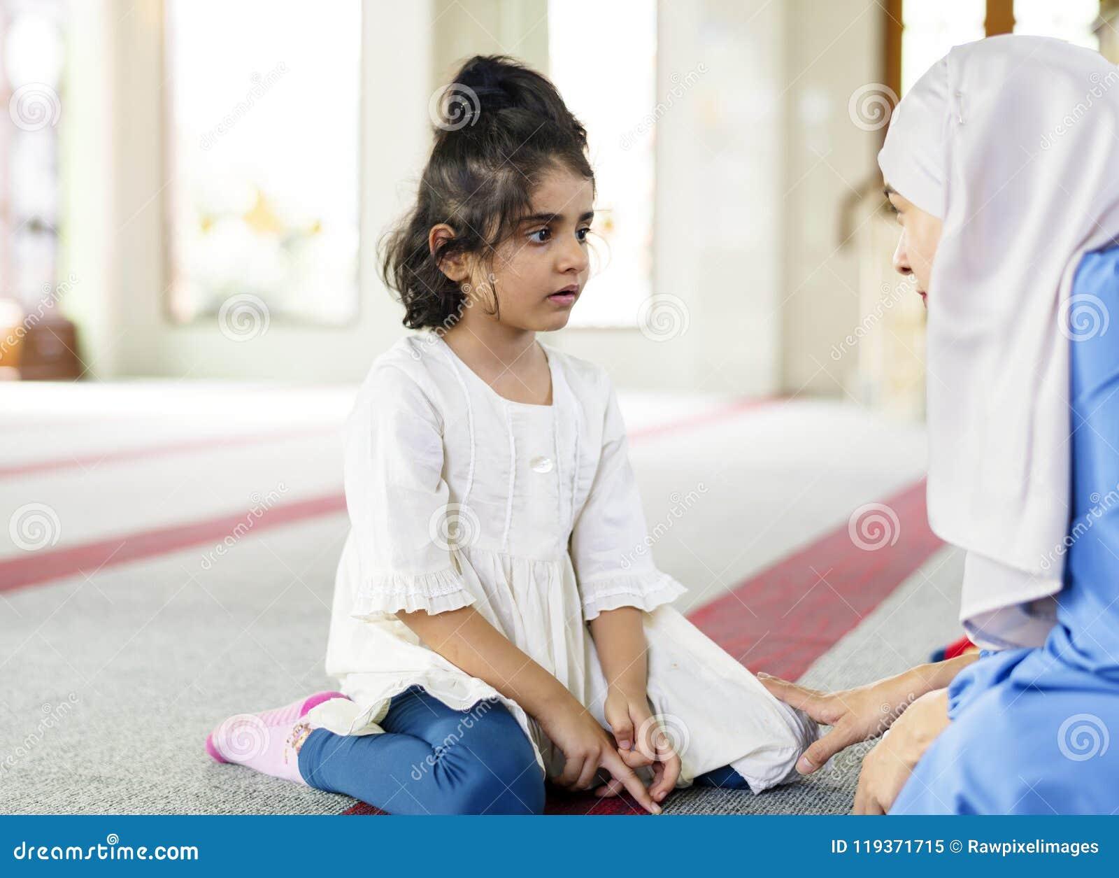 Moslimmeisje in Zondagschool