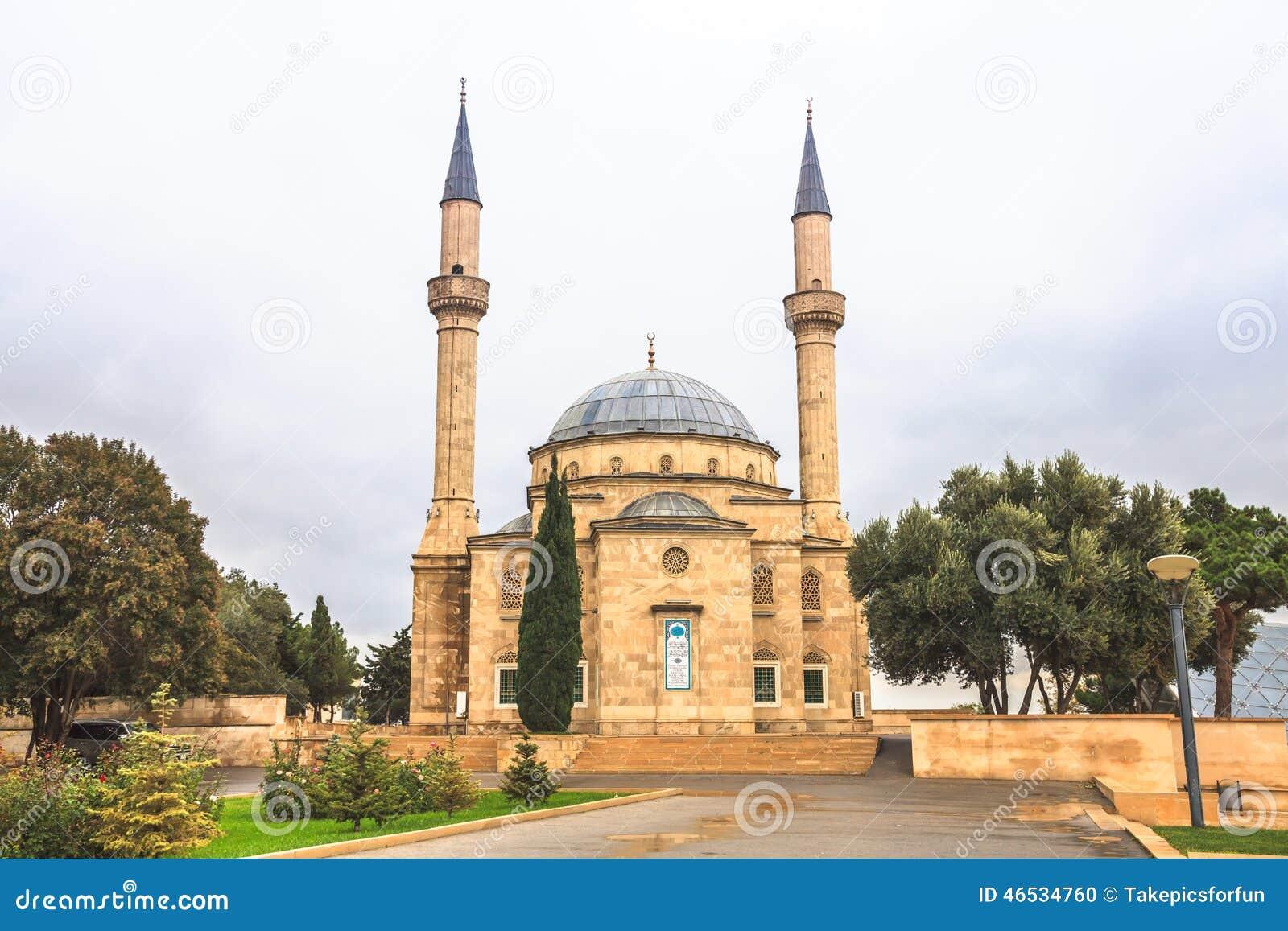 Mosquée à Bakou
