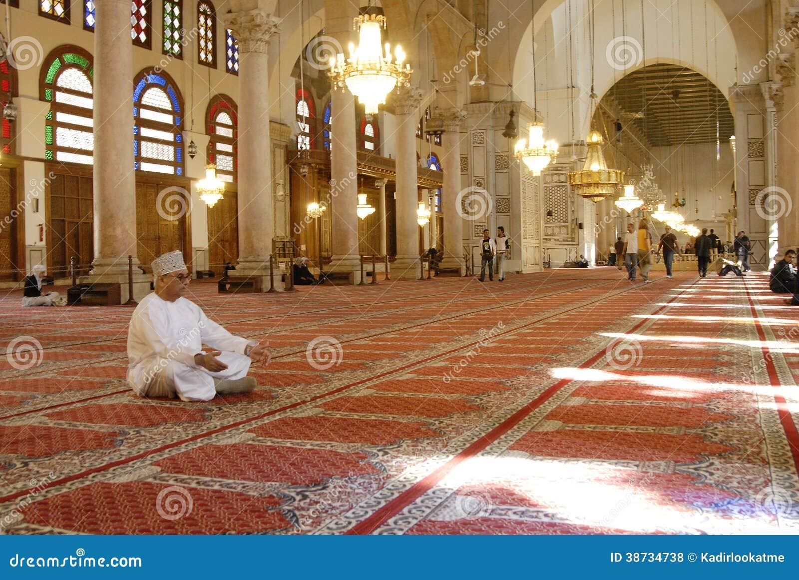Mosquée d Umayyad à Damas