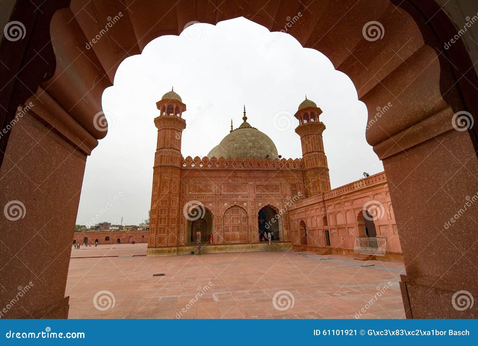 Mosquée de Badshahi, Lahore, Pakistan
