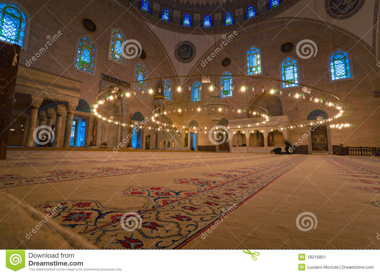 Mosquée de Hagia Sophia, Istanbul, Turquie.