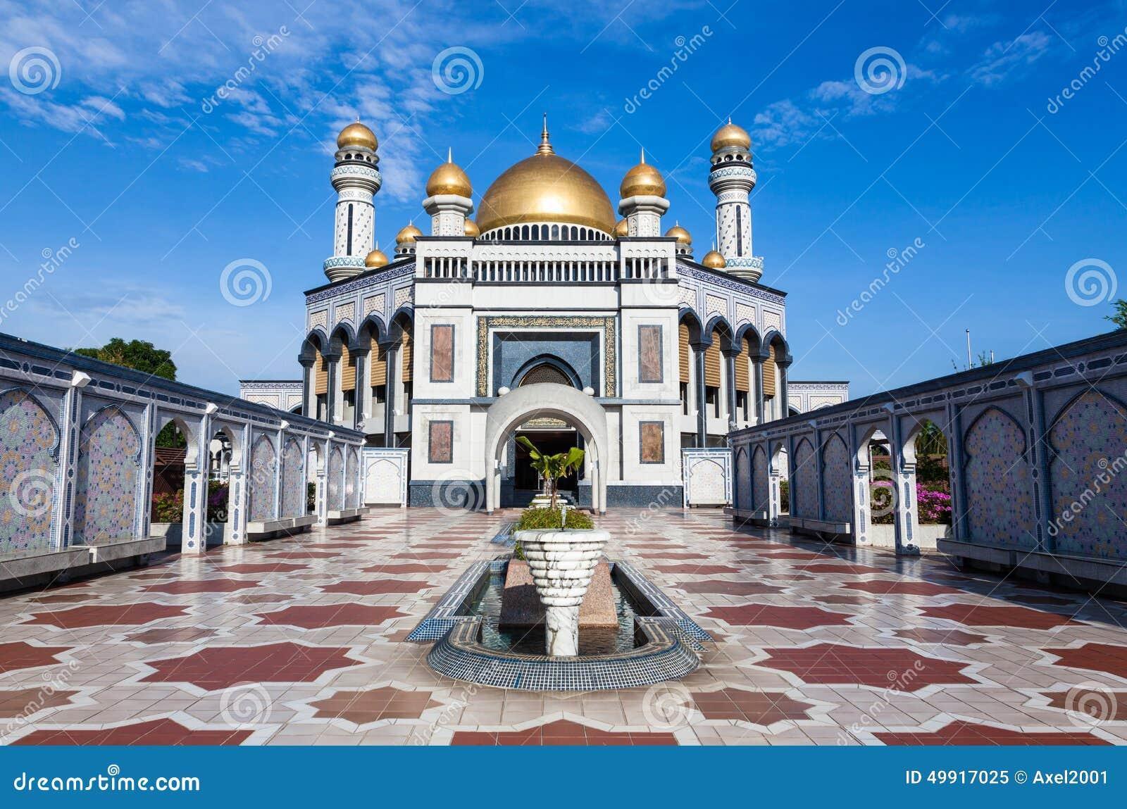 Mosquée de Jame asr Hassanil Bolkiah au Brunei