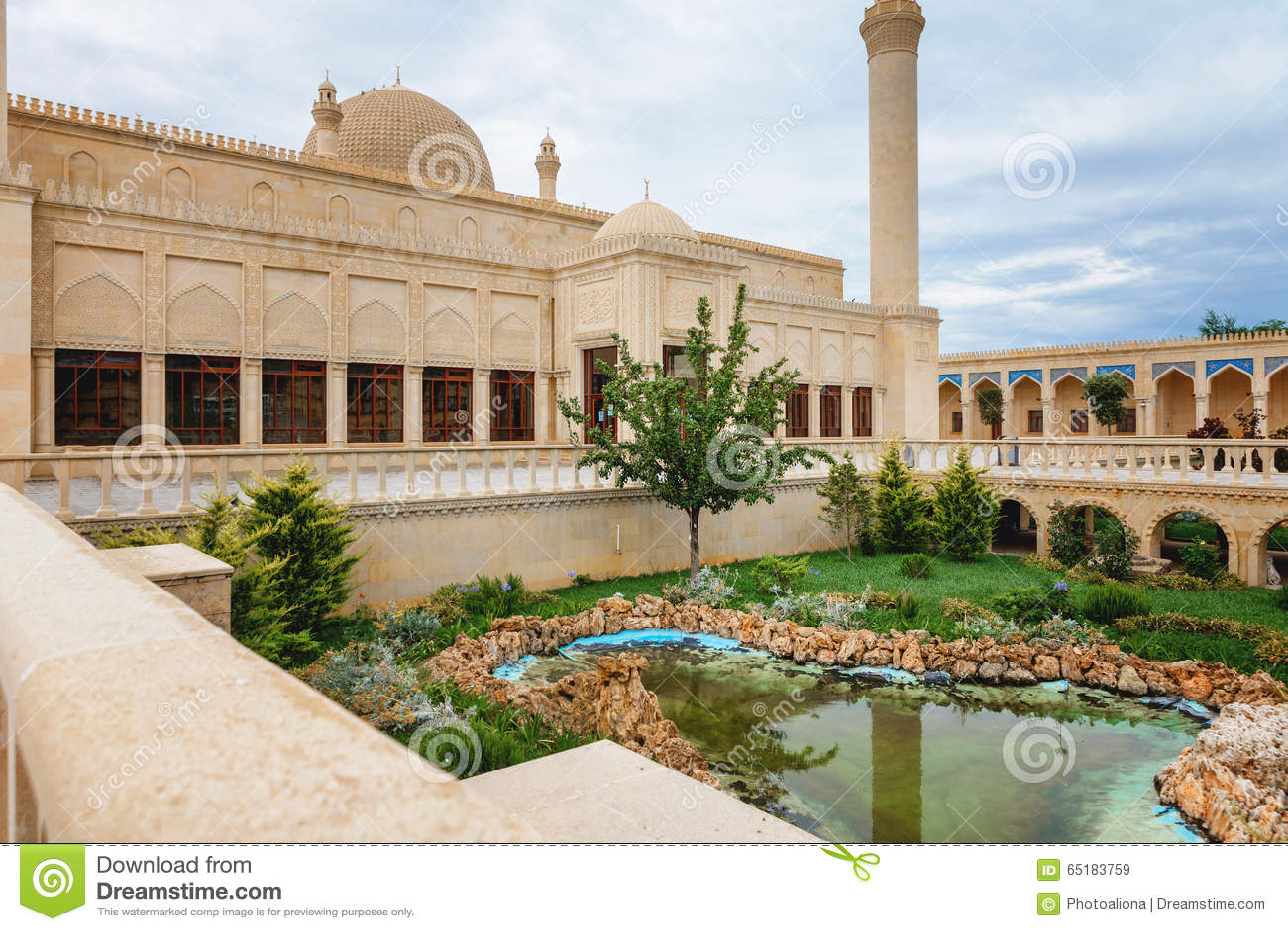 Mosquée de Juma, Samaxi Cume Mescidi, dans Shamakhi, l Azerbaïdjan