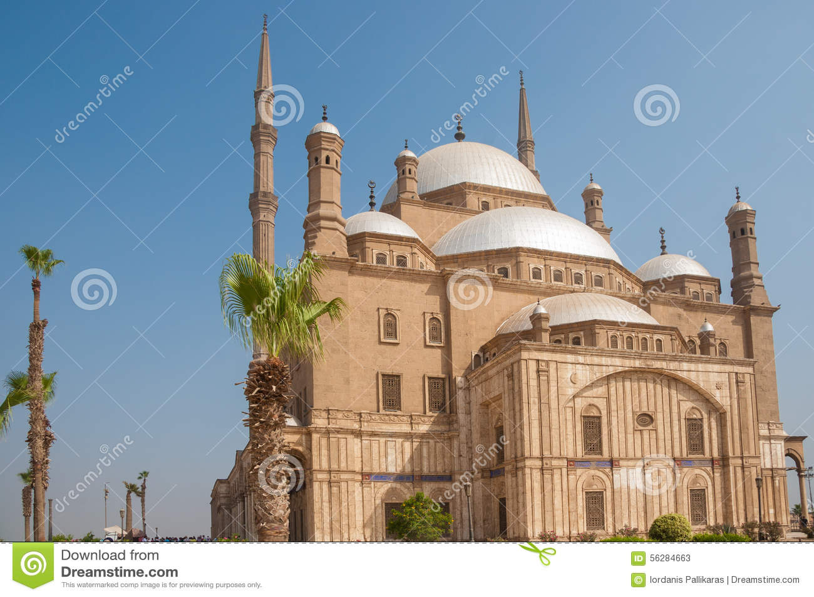 Mosquée de Mohammed Ali ou d albâtre, Saladin Citadel, le Caire, Egypte