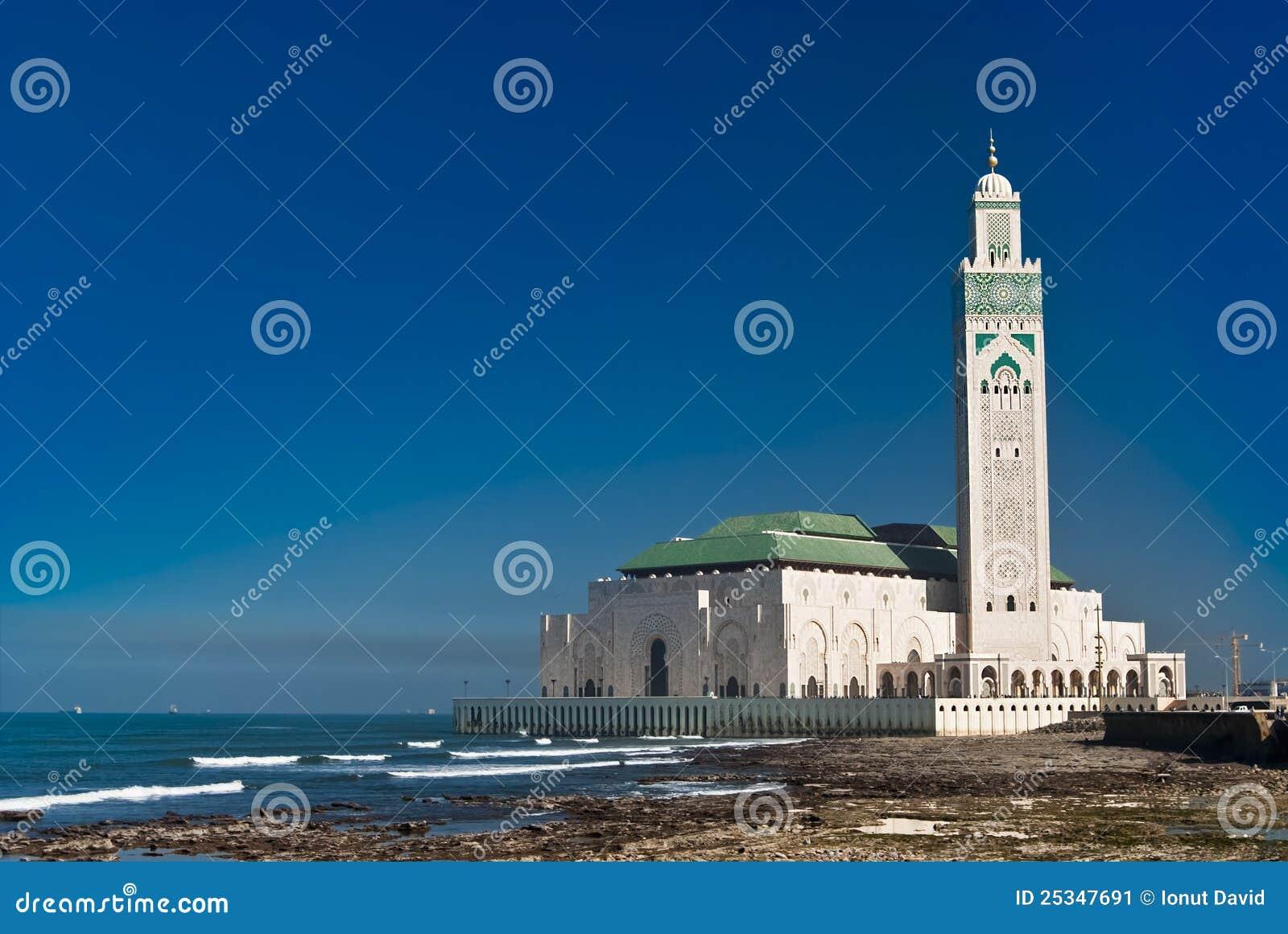 Mosquée du Roi Hassan II, Casablanca, Maroc