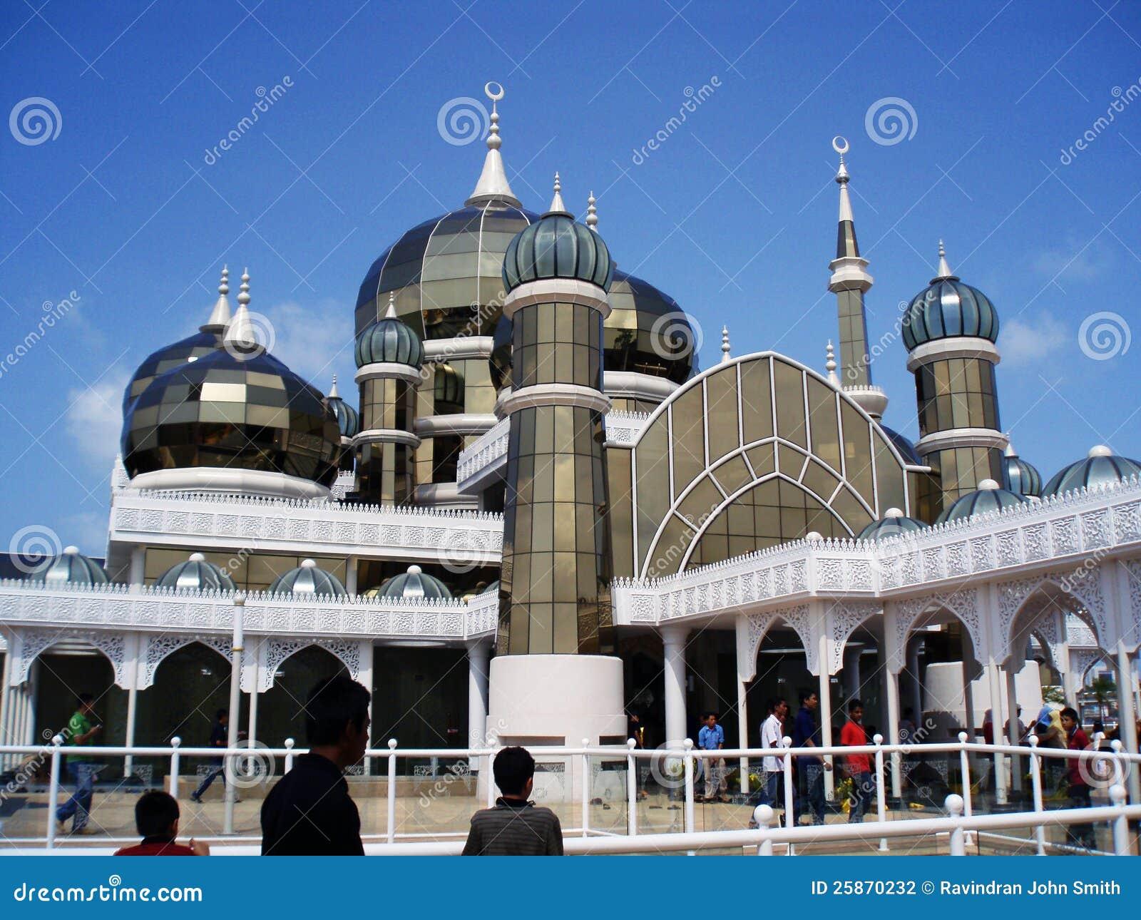 Mosquée en cristal