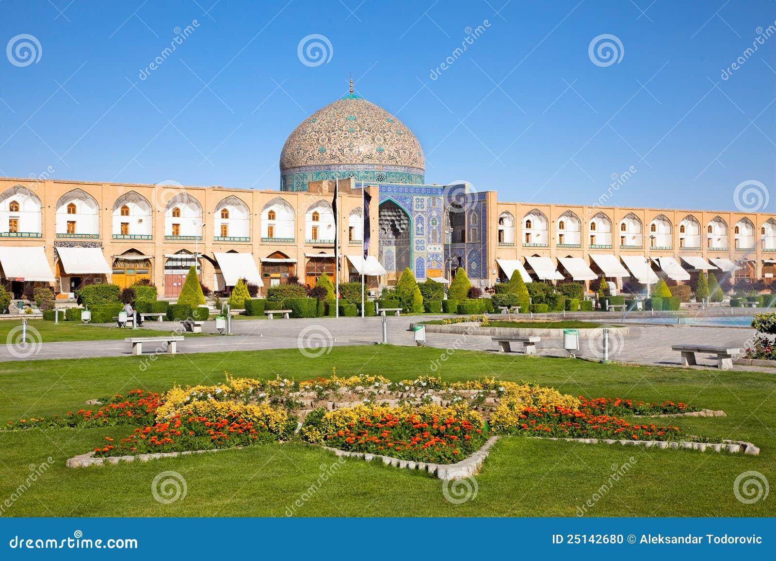 Mosquée Esfahan, Iran de cheik Lotfollah