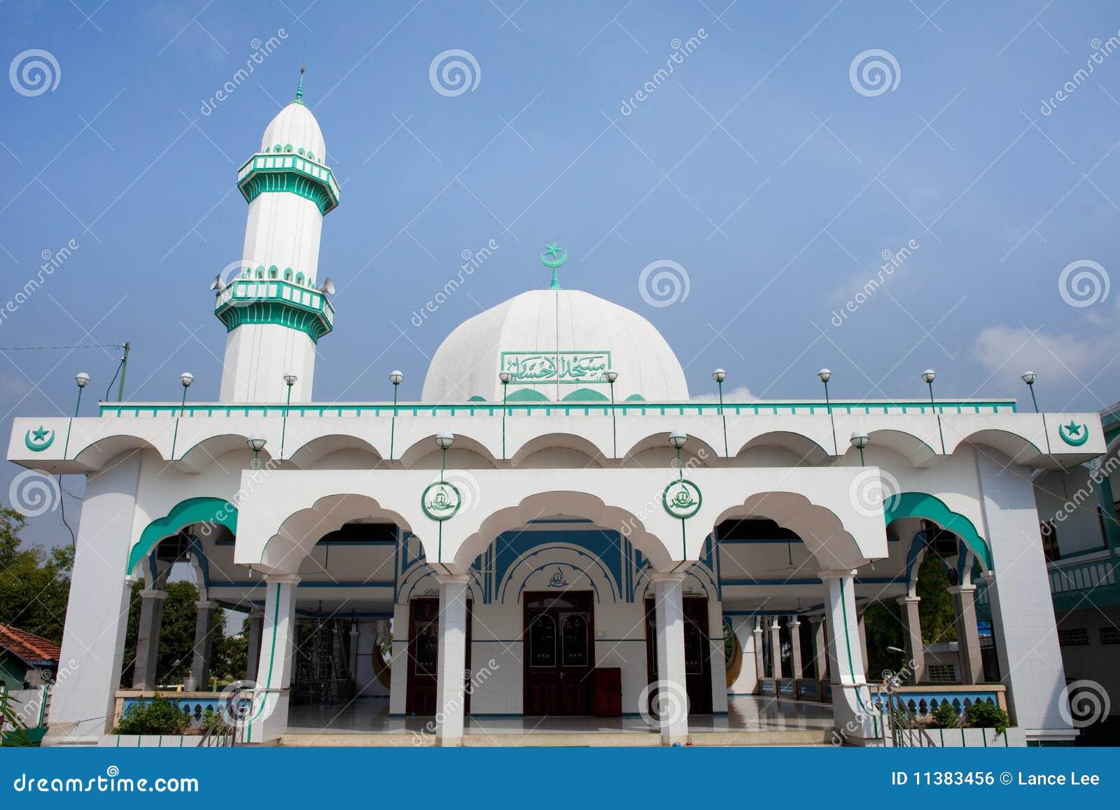 Mosquée musulmane dans le Doc. de Chau, delta de Mekong, Vietnam