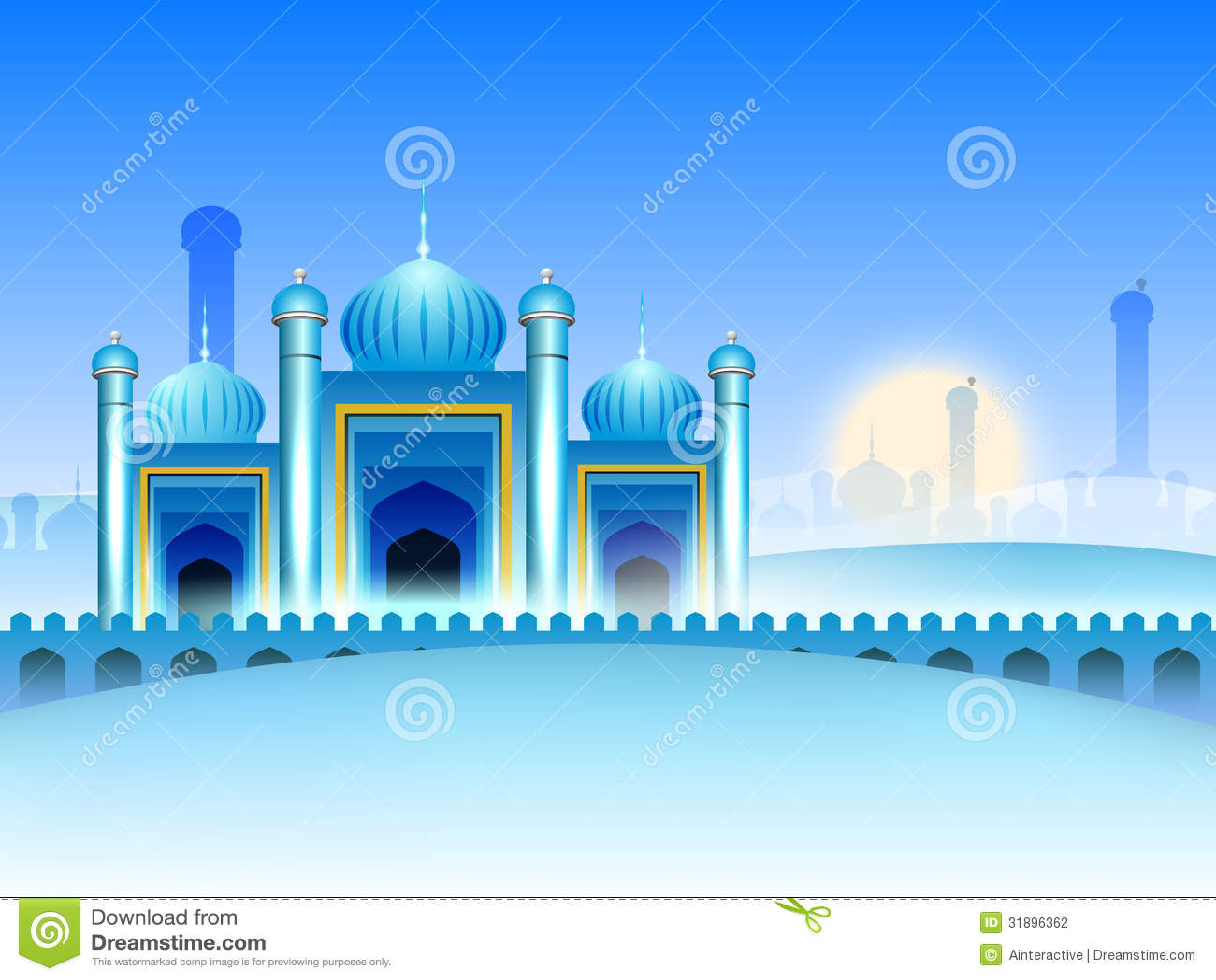 Mosque background for ramadan kareem stock photography image - Royalty Free Stock Photo Background Kareem Mosque Ramadan