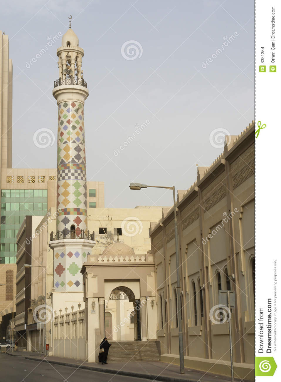 A mosque in bahrain city center stock images image 8381354 for United international decor bahrain