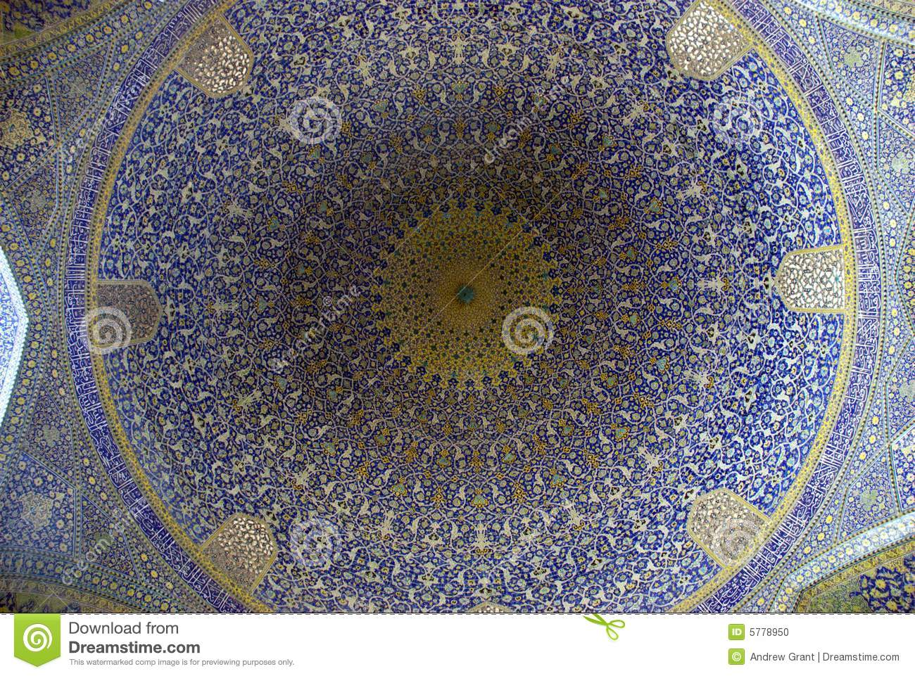 Mosque Dome in Esfahan
