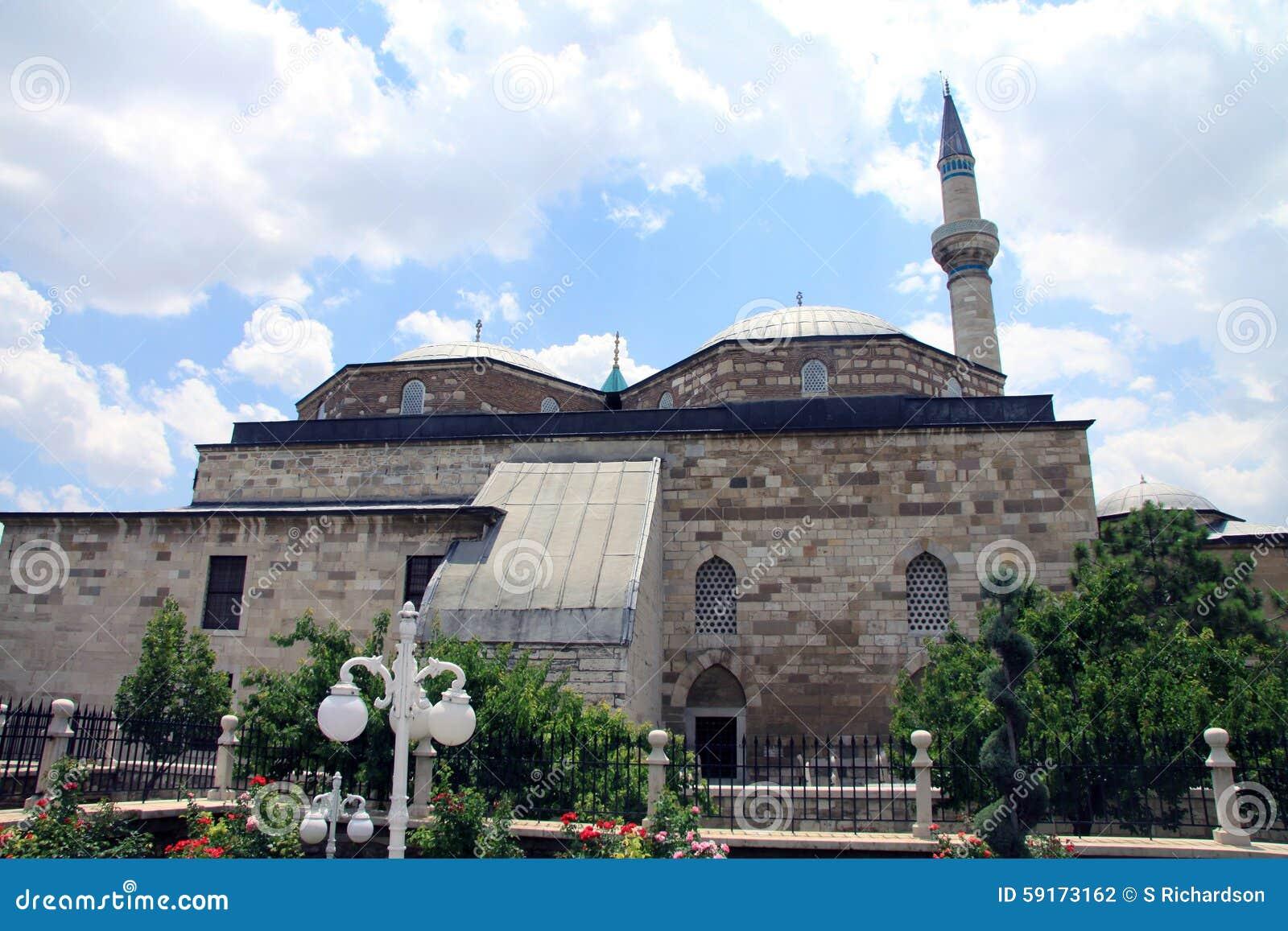 Mosque -konya Stock Photo - Image: 59173162