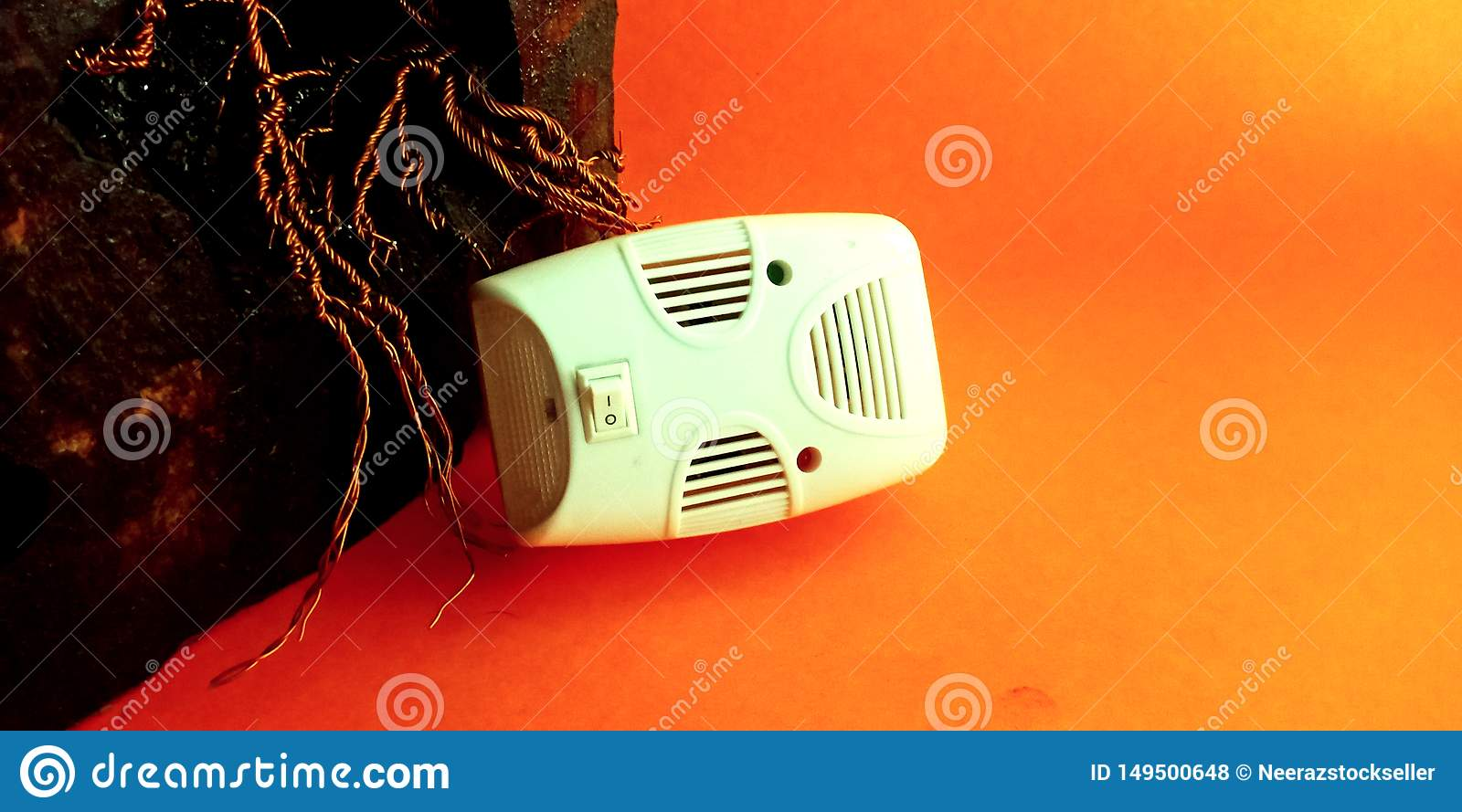 mosquitoes killer machine for home use stock photo