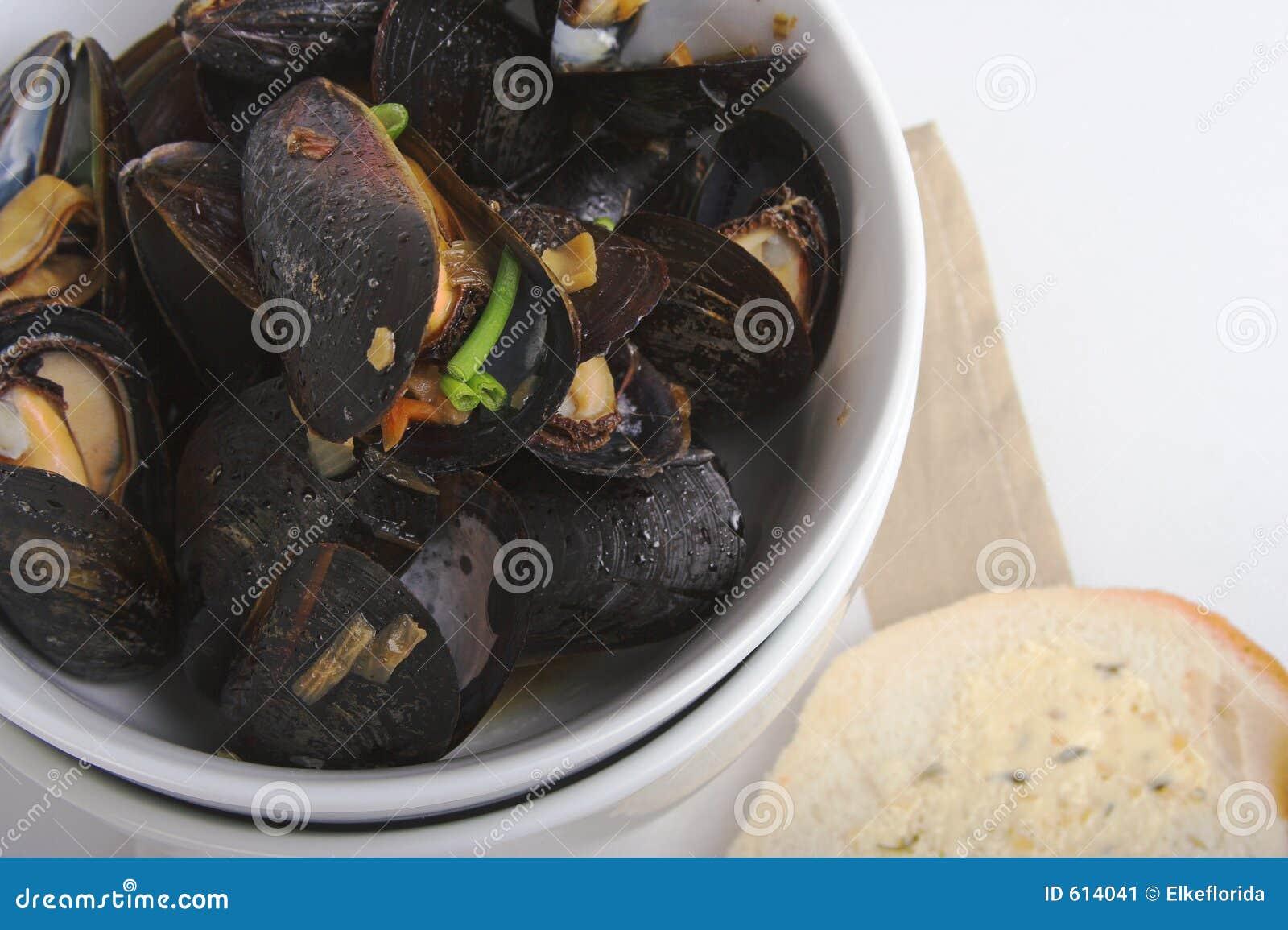 Mosselen en toost