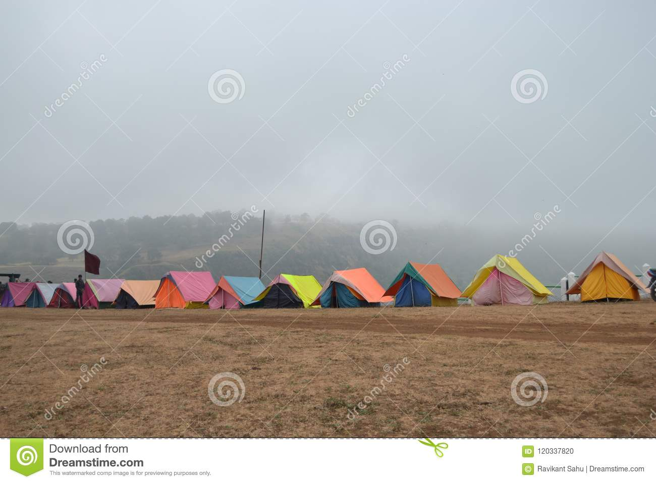 Exciting And Fabulas Camp Site Patalkot At Mp India