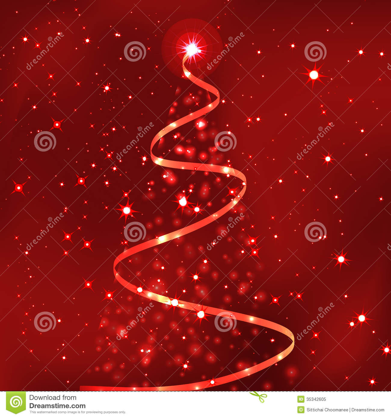 Most Beautiful Christmas Trees Royalty Free Stock Photo