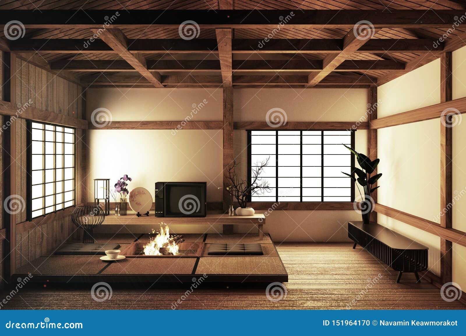 modern japanese living room