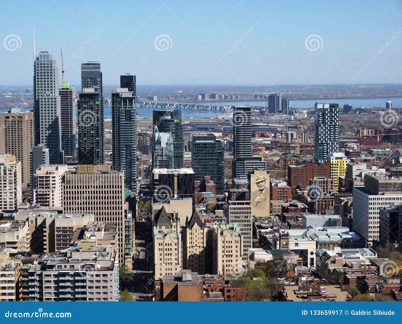 Most Brooklyński i Manhattan punkt widzenia