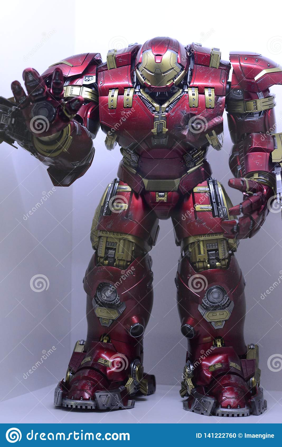 Iron Man Hulk Buster, Marvel Characters Universe Editorial Image