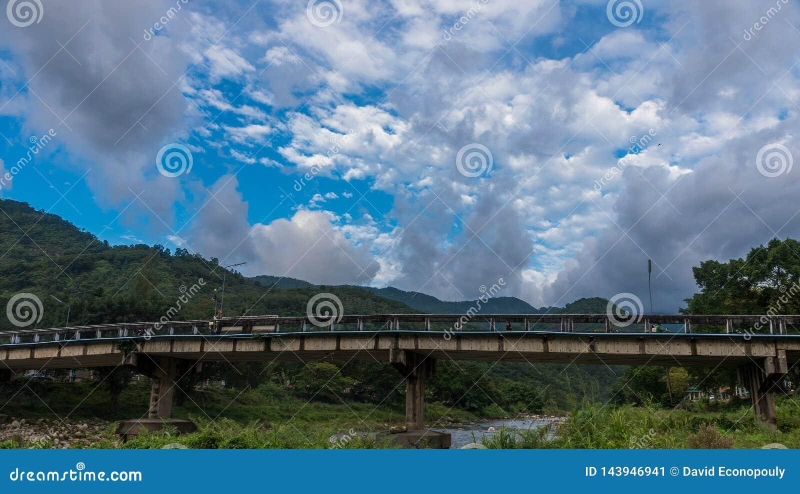 Most przy Kiriwong Tajlandia