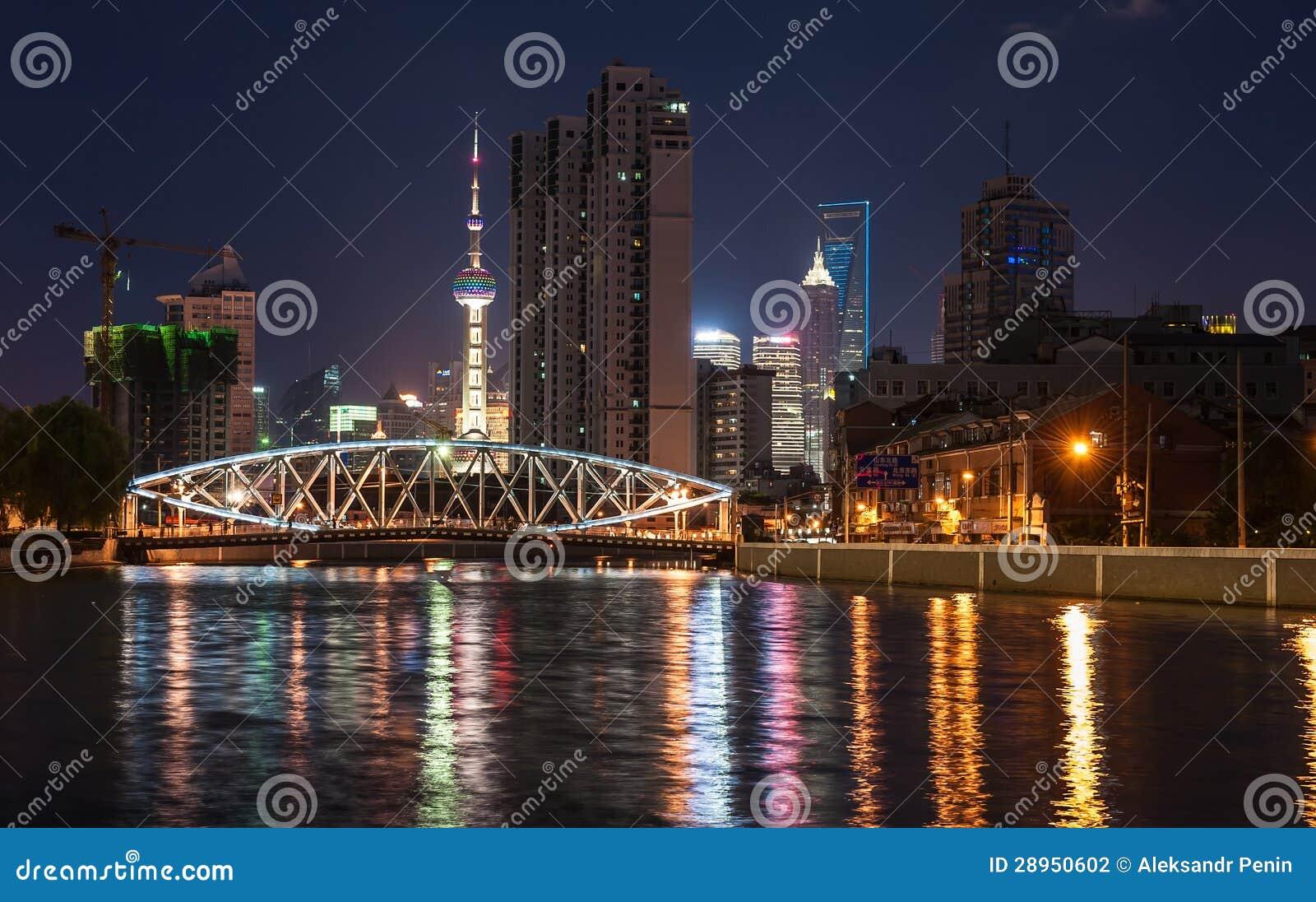 Most z iluminacją