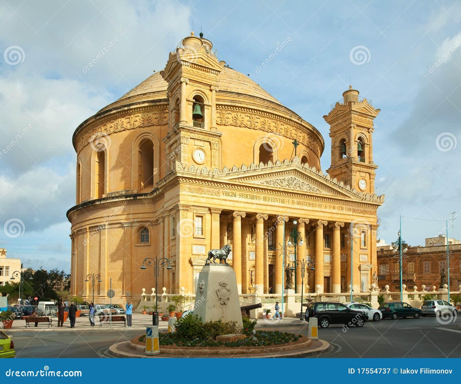 Mosta ST της Μάλτας Mary εκκλησιών