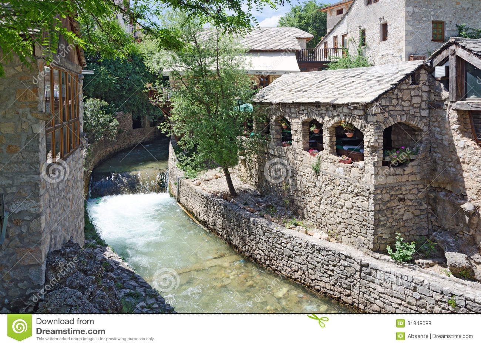 Mostar. Ett hörn