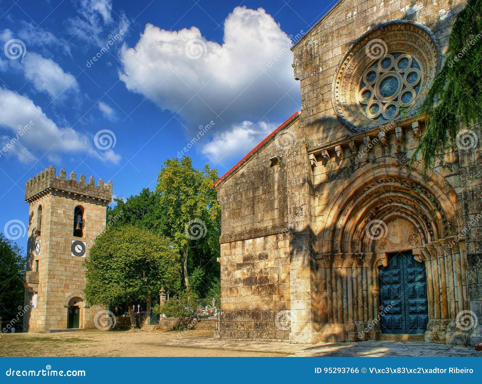 Download Mosteiro Do Salvador De Paco De Sousa Stock Photo - Image of environment, penafiel: 95293766