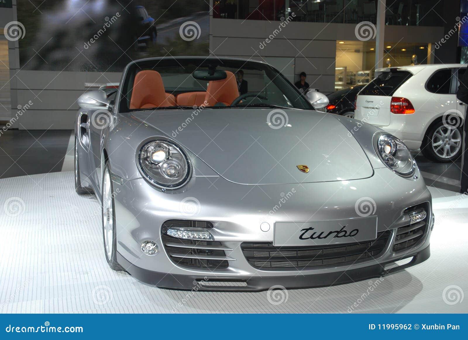 Mostra internazionale Porsche dell automobile della Cina