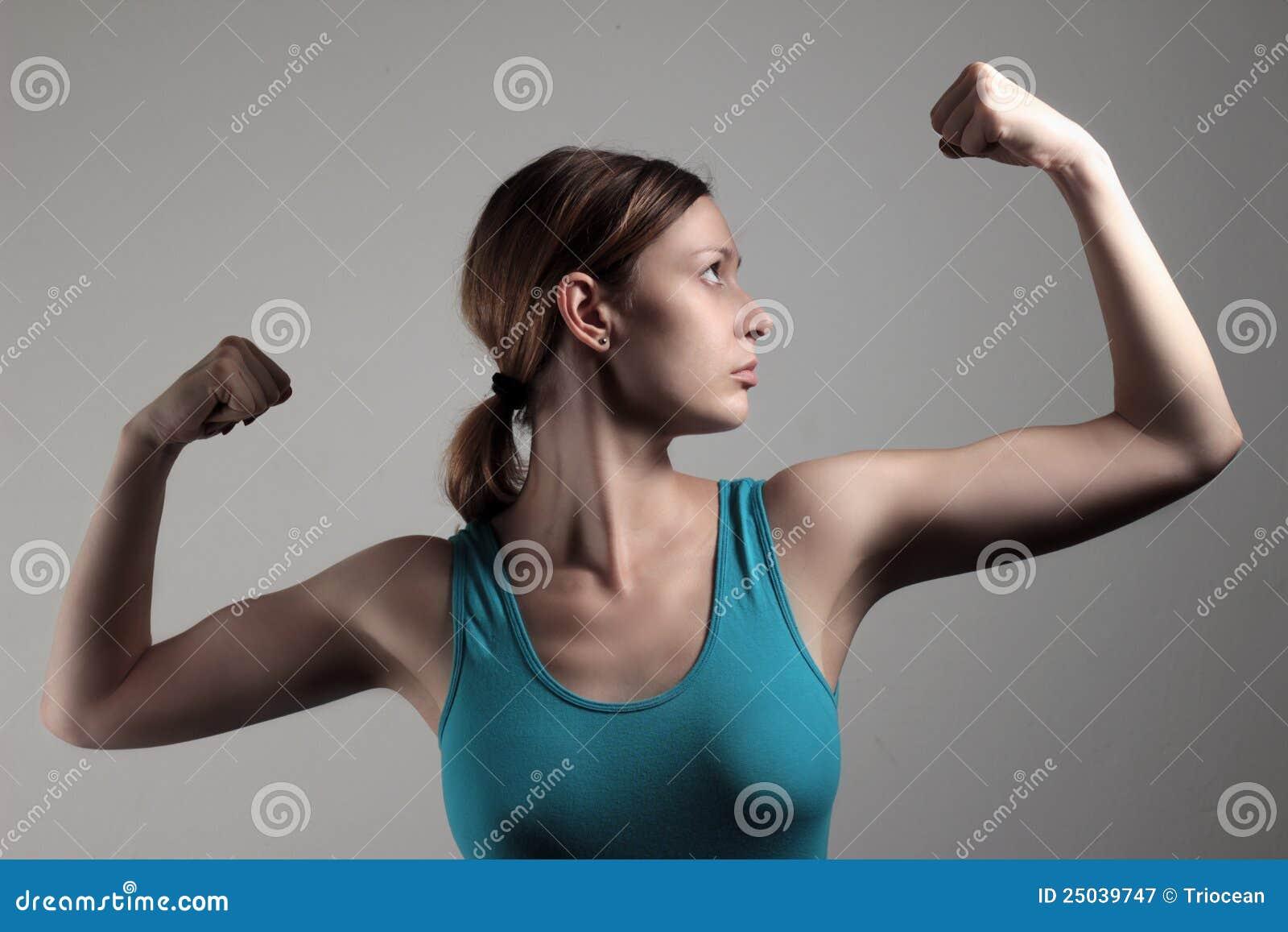 Mostrar apagado el bíceps